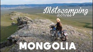 Motocamping across Mongolia