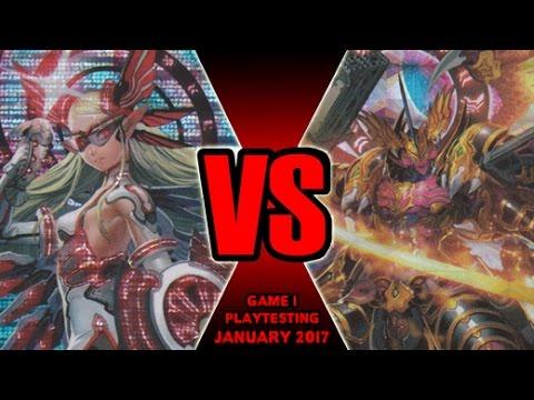 The Rebirth Vs Jewel Knights - Cardfight Vanguard Game 1