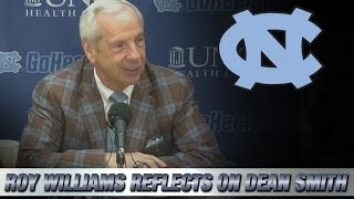 UNC's Roy Williams Reflects on the Passing of Dean Smith