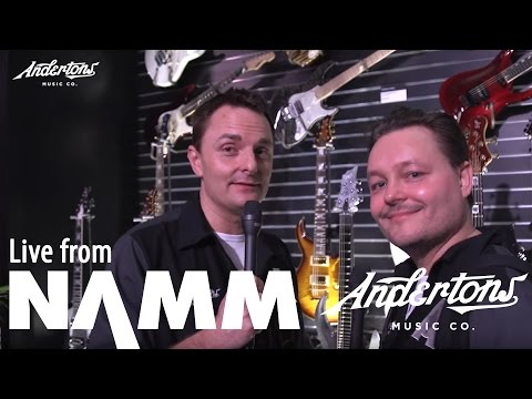 ESP's new line up at NAMM 2017