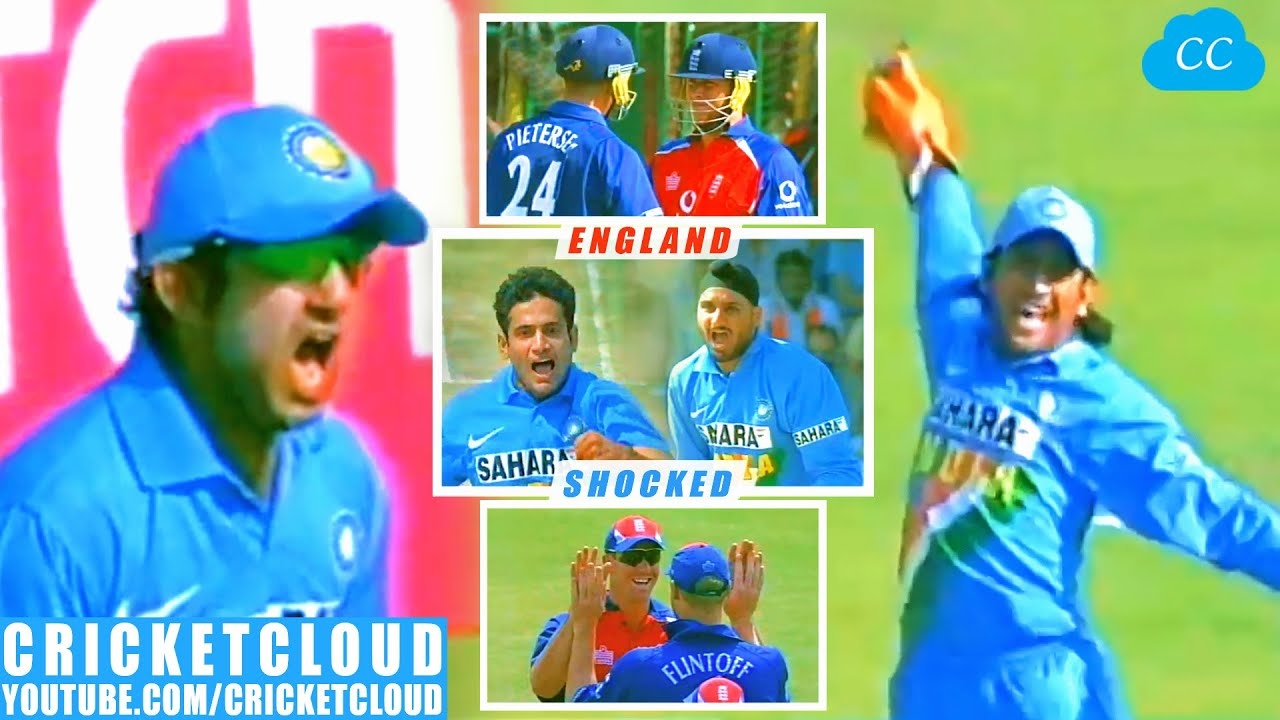 India Shocked England   Harbhajan's Spin Irfan Pathan's Swing Turned the Game   INDvENG 2006 !!