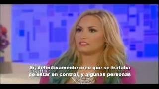 Demi Lovato habla de bullying, bulimia y anorexia (subtitulado)