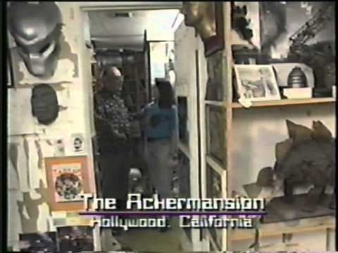 Forrest J Ackerman Ackermansion Movie Prop and Horror Collection Tour