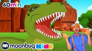 Learn Dinosaur Names   Blippi   Learning Videos For Kids   Education Show For Toddlers