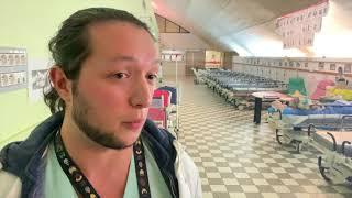 Hôpital en grève : visite surprise d'Agnès Buzyn (12 juin 2019, Hôpital Saint-Antoine, Paris)