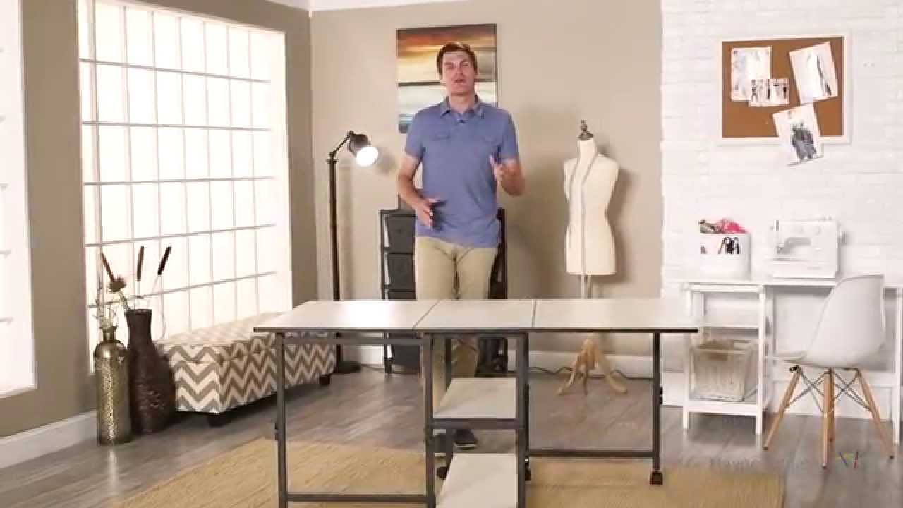 Charmant Sullivans Adjustable Home Hobby Table   Product Review Video   YouTube