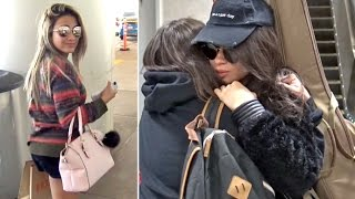 Fifth Harmony Band Members Give Love To Fans Arriving In L.A.