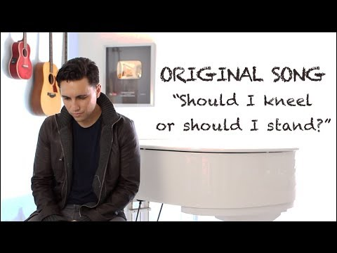 Should I Kneel or Should I Stand? (Original) - Chester See