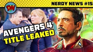 Hercules in MCU, Avengers 4 Title, Captain Marvel New Look, MCU Phase 4   Nerdy News #15