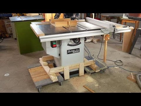 Table Saw Dolly Lifter Youtube