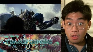 Transformers: The Last Knight Teaser Trailer Reaction