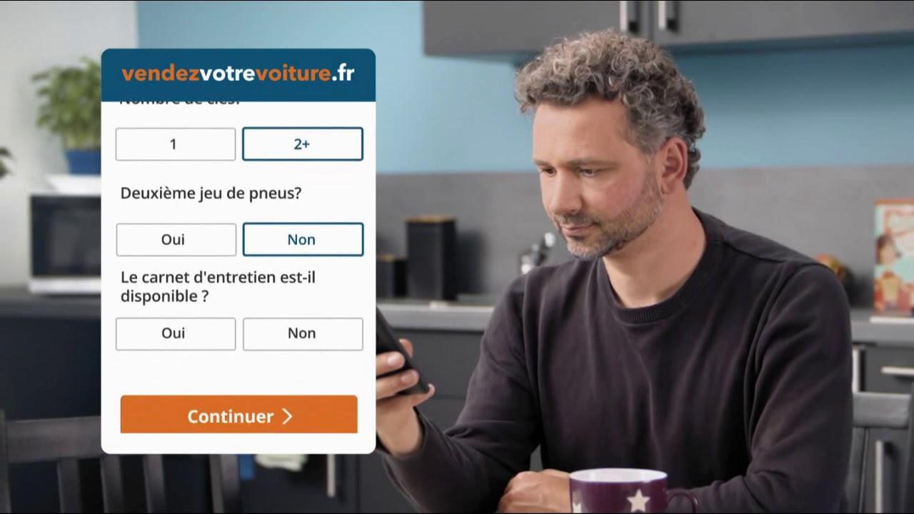 """Musique de la pub vendezvotrevoiture.fr """"la solution la plus simple pour vendre son véhicule""""  2021"""