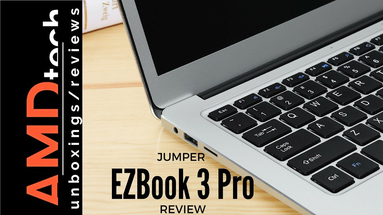 Jumper Ezbook 3 Pro Review With Ssd Installation Youtube