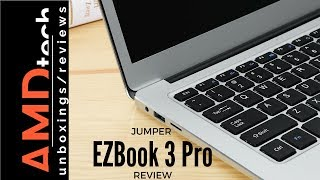 Jumper EZBook 3 Pro Review: With SSD Installation