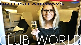 Airbus A380 British Airways CLUB WORLD|Lower Deck