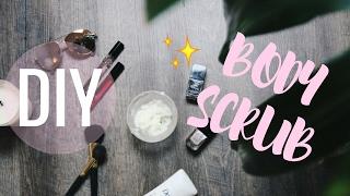DIY Exfoliating Body Scrub | Brittany O'Barr