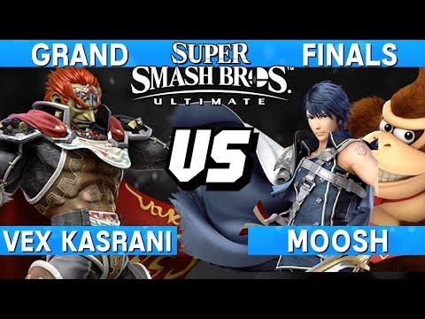 Smash Ultimate Tournament Grand Finals - Moosh (DK / Chrom) vs Vex Kasrani (Ganondorf) - S@LT 179 thumbnail