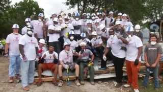 Longhorn Blitz - Football Wimberley flood cleanup [June 20, 2015]