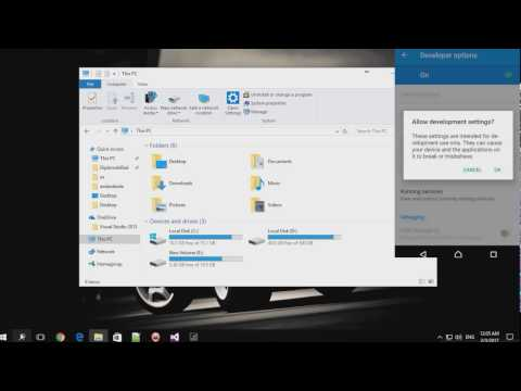 FIX USB Debugging and USB connection to PC(Windows 10) - Works with