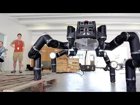 Meet RoboSimian, NASA JPL's Ape-Like Robot!