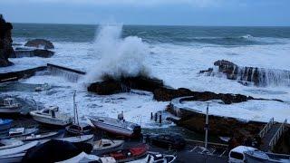 Tempête 11 janvier 2016 à Biarritz !