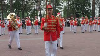 """Детские оркестр на фестивале """"Амурские волны"""" в Хабаровск"""