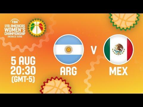 Argentina v Mexico - Full Game - Quarter-Final