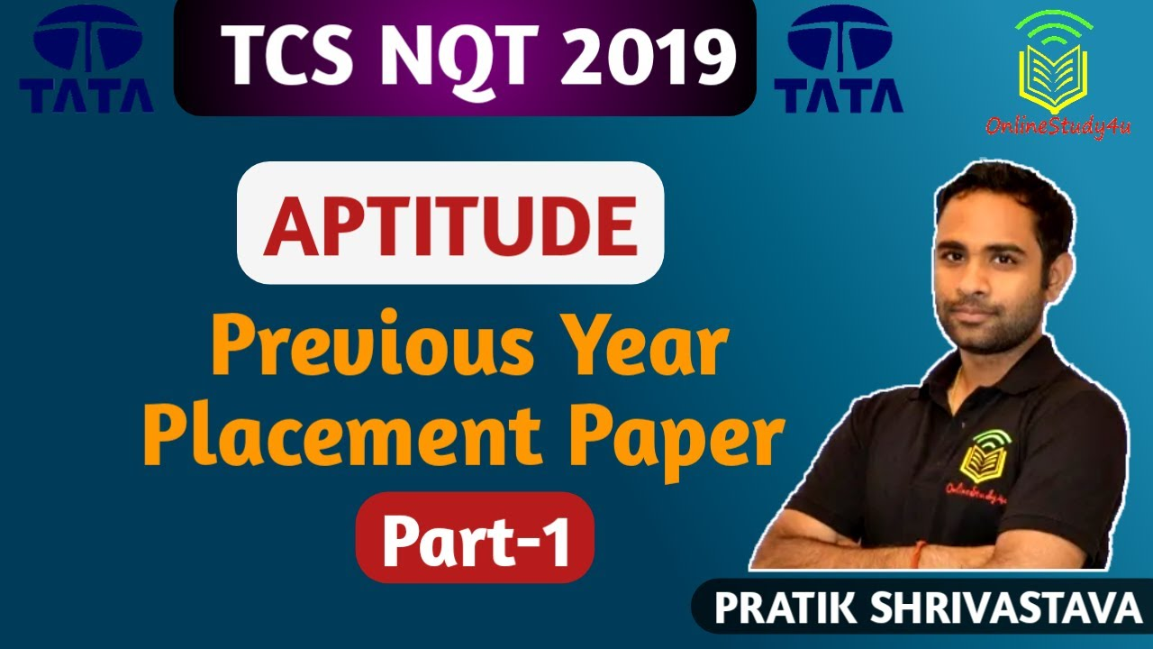 TCS NQT Previous Year Paper Discussion ! Easy Trick to Solve TCS questions!