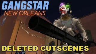 GANGSTAR NEW ORLEANS - REMOVED SCENES | ALTERNATE CUTSCENES