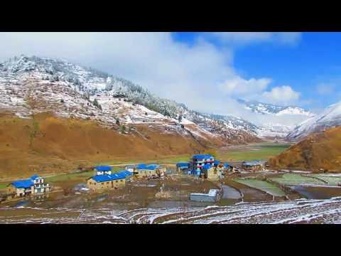हिउँ पर्दा स्वर्ग झै देखिने जुम्लाको सिंन्जा भ्याली हेर्नै पर्ने भिडियाे।Jumla nepal sinja valley
