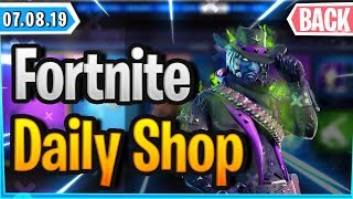 🤠 NEW WRAP - RARE SKIN WIEDER DA 🛒 - Fortnite Daily Shop (07 août 2019)