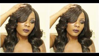 HAIR TUTORIAL: Big Bouncy Hair with defined bangs Mercy Hair Extensions Thumbnail