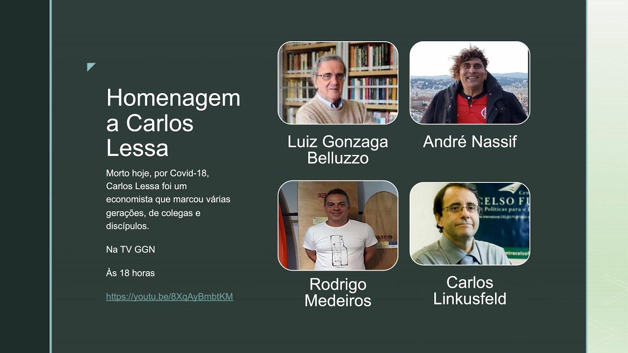 Homenagem ao mestre Carlos Lessa