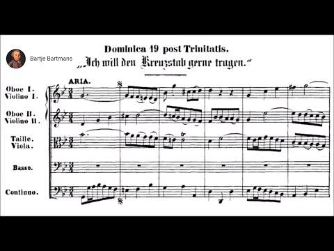 J.S. Bach - Ich will den Kreuzstab gerne tragen, BWV 56 (1726) {Fischer-Dieskau}