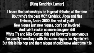 Kendrick Lamar - Control (Lyrics HD) (Kendrick Verse ONLY)