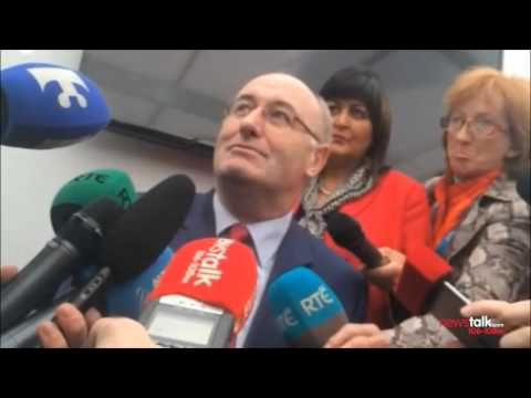 Phil Hogan deflects questions on the set up of Irish Water