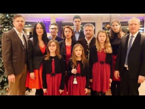 Weihnachtsgrüße der Familie Meiser