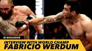 UFC 188: Fabricio Werdum Reveals Embarrassing Life-Changing Choke Out Story | Generation Iron