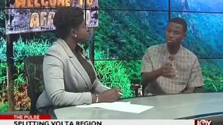 Splitting Volta Region - The Pulse on Joy News (16-1-17)