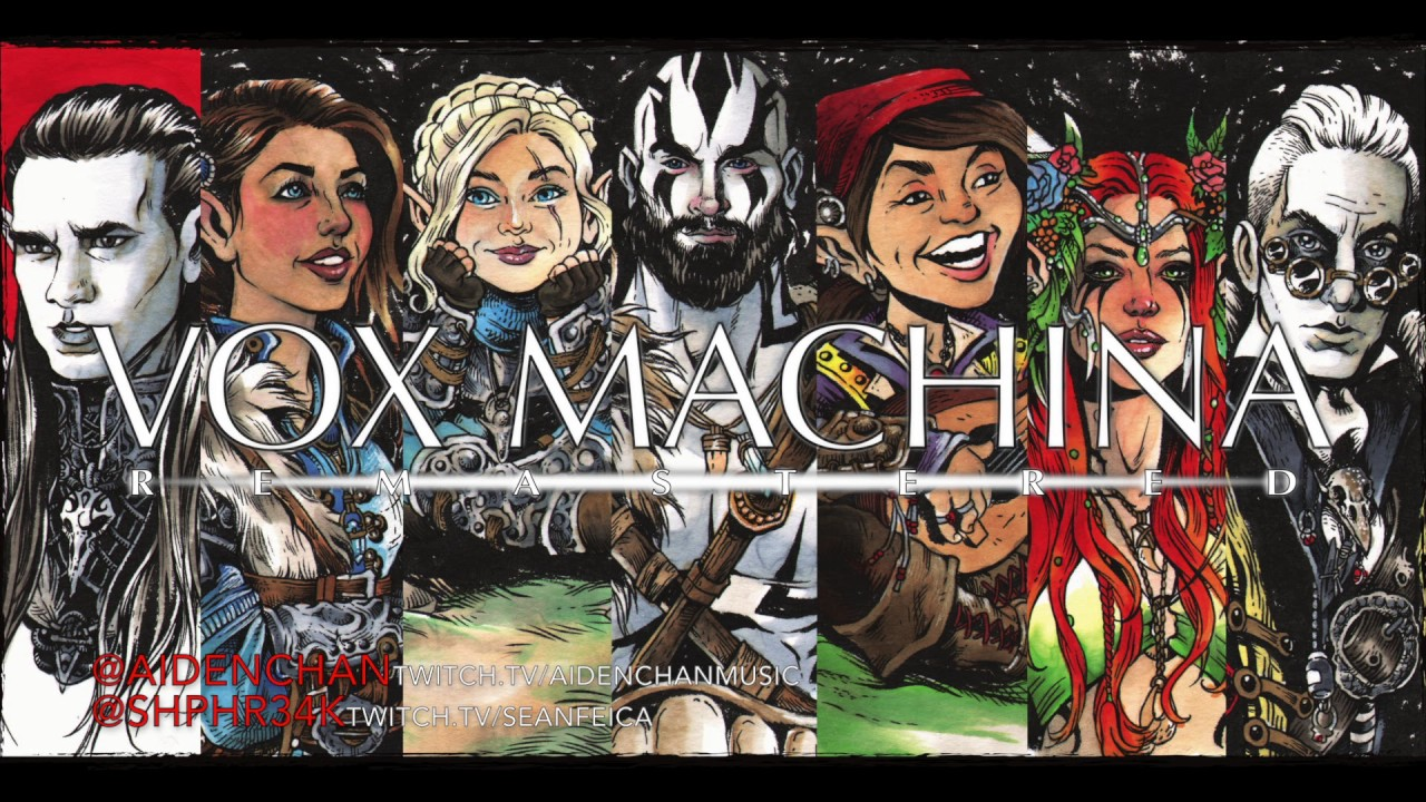 "Aiden Chan — ""Vox Machina: Remastered"" feat. Sean Feica ..."