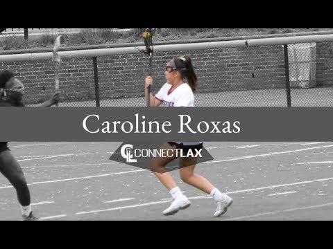 Caroline Roxas Lacrosse Highlights - NJ 2020 - Att