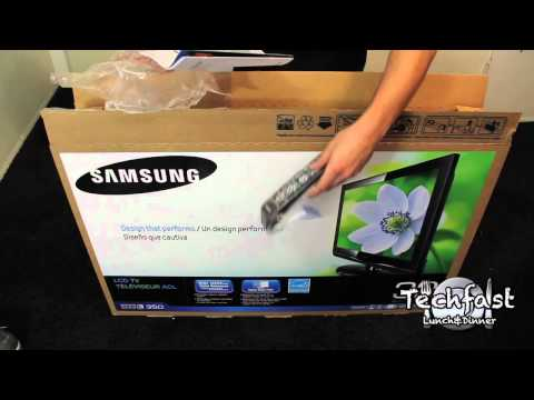 Samsung 32 inch Series 3 LCD HDTV Unboxing  (LN32C350)