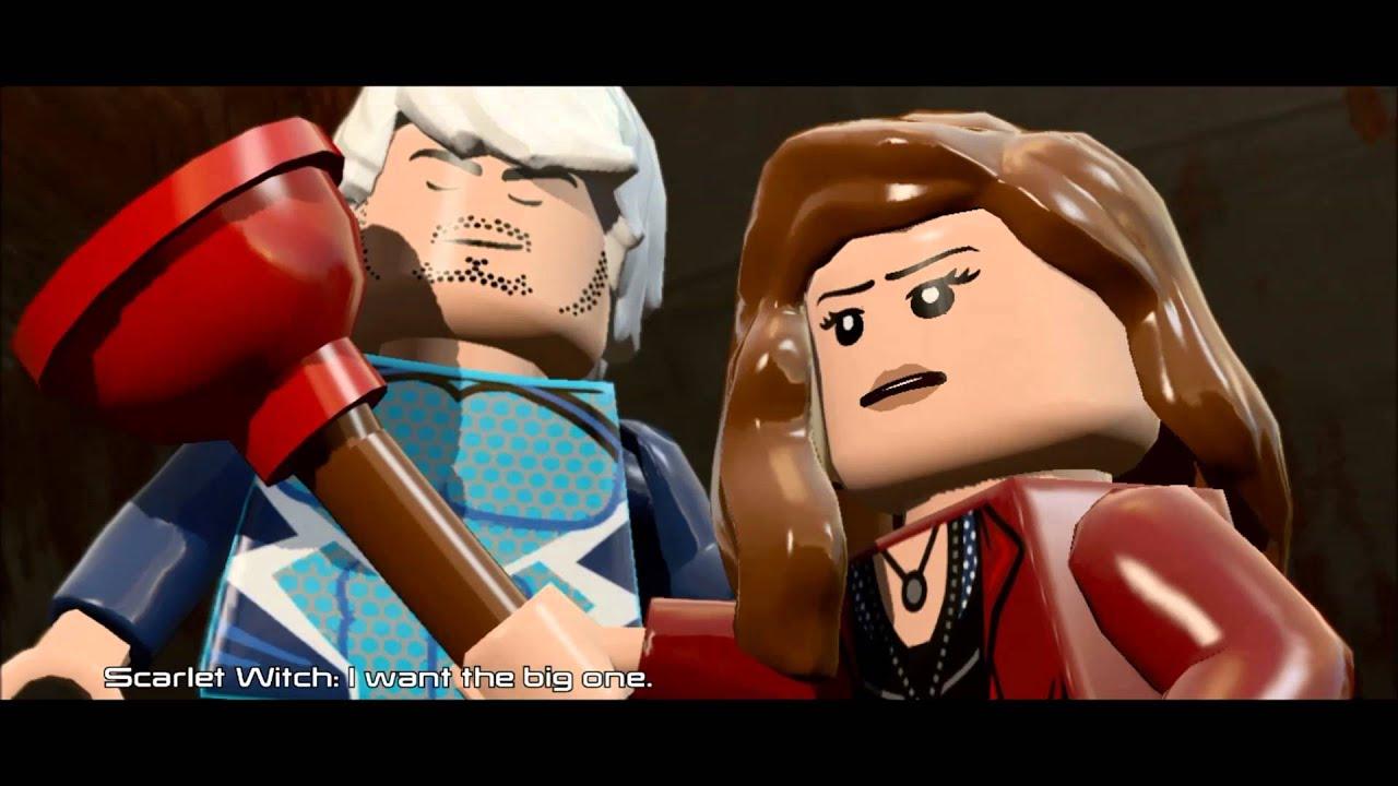 LEGO Marvel's Avengers Story - Level 12 - Anger Management ...
