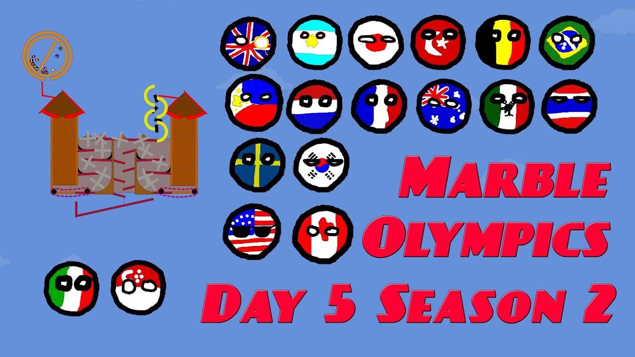 Marble Olympics Race 5 season 2