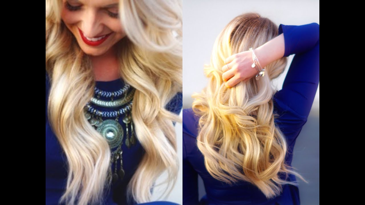 How to wear halo hair extensions youtube pmusecretfo Choice Image