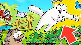 Белый КОТ бежит со всех ног - игра для детей про кота! Kids Play