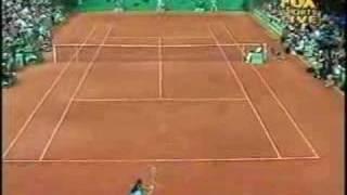 Conchita Martinez versus Jelena Dokic - 1st Set Highlights