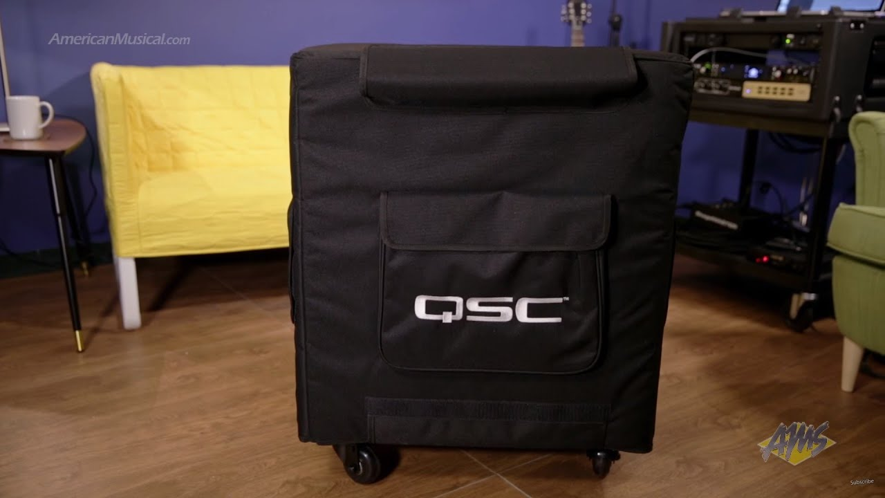qsc kw181 speaker cover qsc kw181cover youtube