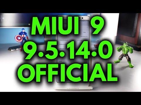 MIUI 9  9.5.14.0  UPDATE  Released  for Redmi Note5 Pro [UPDATER APP]