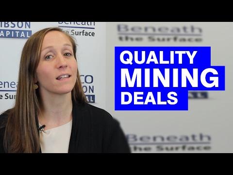 Gwen Preston: Quality Mining Deals See Investment Flood